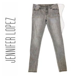 Gray Jeggings - Size 4